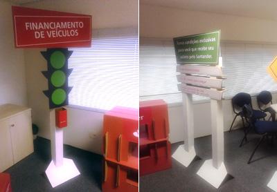 Projeto sob medida – Financiamento de Veículos – Banco Santander