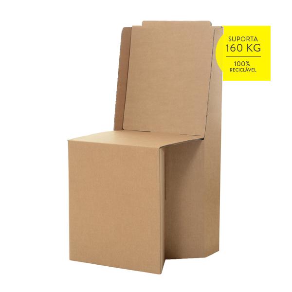 Well-known Cadeira de Papelão - Cartone Design - Móveis de Papelão AK22